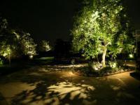 Освещение парков и садов, а также частных садовых территорий