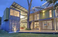 Дом из контейнеров: креативное жилье
