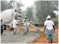 Бетонирование дорожек и тротуаров - технология изготовления дорожек из бетона