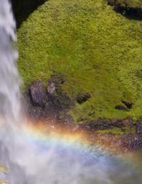 Как сделать водопад Радуга