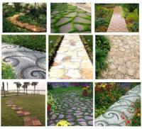 Садовые дорожки своими руками: правильная технология укладки