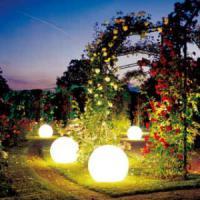 Ландшафтный свет особое очарование садового участка