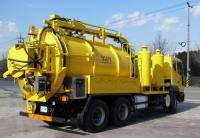Ассенизаторские машины для обслуживания канализаций