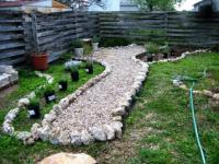 Садовые дорожки своими руками - выгодно, модно, оригинально