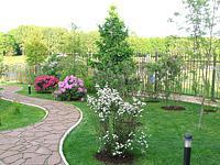 Садовые дорожки - устройство и мощение дорожек камнем и плит