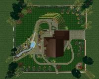 Ландшафтный дизайн на лесных участках