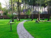 Обустройство двора частного дома своими руками: советы, фото вариантов