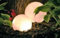 Освещение на садовом участке или даче