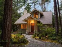 Дом в саду своими руками фото